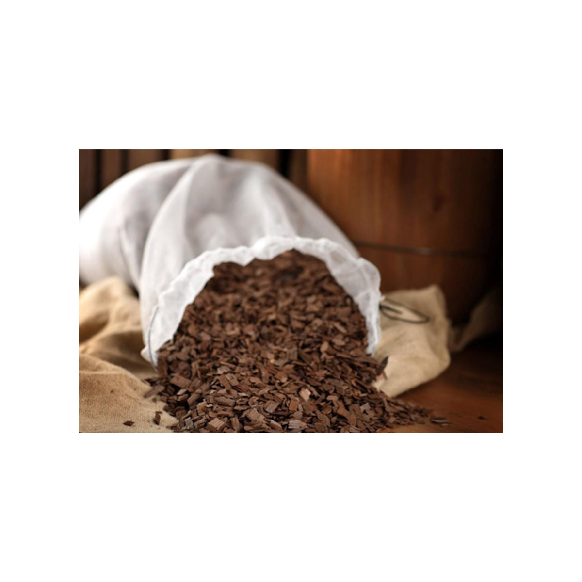 American Oak Chips Large Grade - Medium Toast